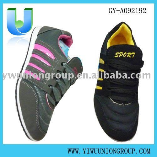 Women's Sports Shoes FOB Price: US $ 2.57 - 2.7 / Pair | Get Latest Price Min.Order Quantity: 5 Carton/Cartons mixed colors Supply Ability: 20000 Carton/Cartons per Week mixed designs