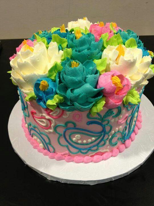 22 best white flower inspired cakes images on pinterest beautiful white flower cake shoppe paisley cake mightylinksfo