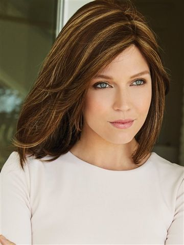 Samantha, Synthetic Double-Layered Monofilament Top Wig by Amore - WowWigs.com
