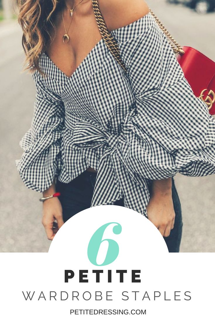 Elevate your petite style with this 6 must have wardrobe staples to look taller and thinner. Check out www.petitedressing.com for petite clothing from independent designers. #petite #petites #petiteclothing #petitestyle #petitefashion