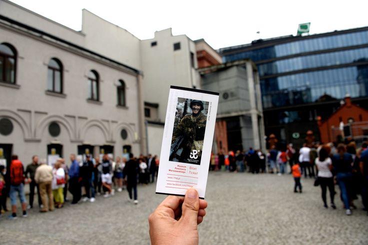 The impressive Warsaw Uprising Museum. photo: Dennis Faro