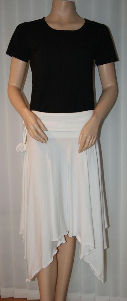 As a skirt
