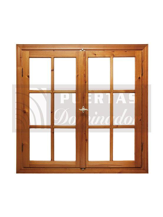 18 best ventanas images on pinterest windows bay for Fabrica de puertas y ventanas de madera