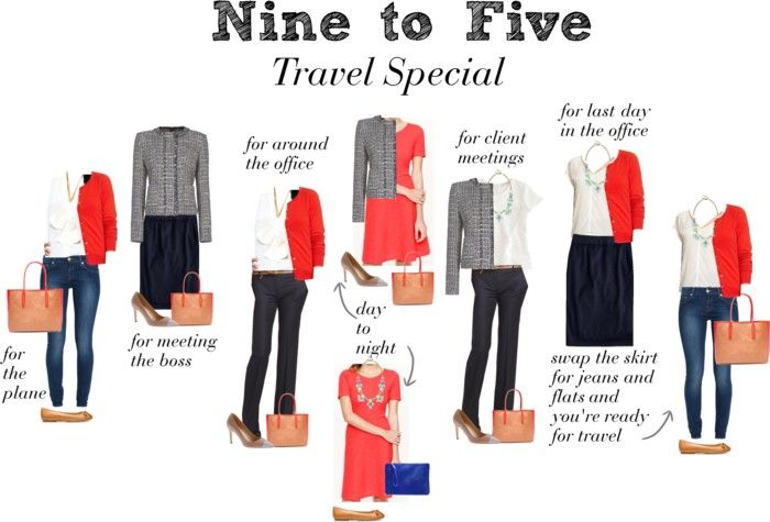 Nine to Five - Travel Special -- week long business trip