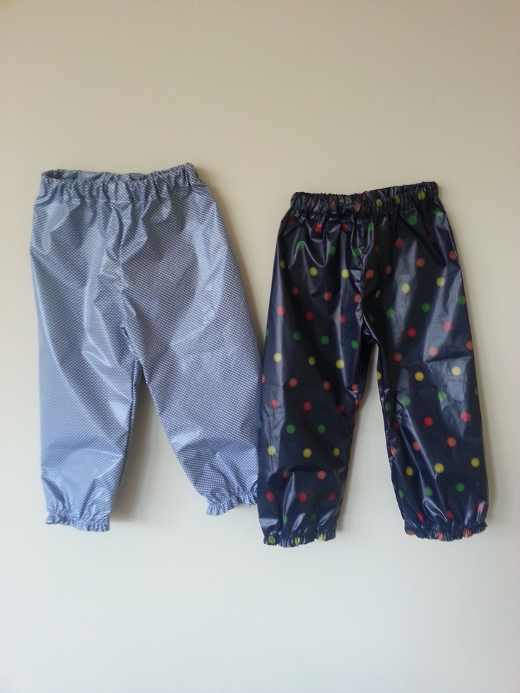 Puddle pants for the active toddlers this winter!