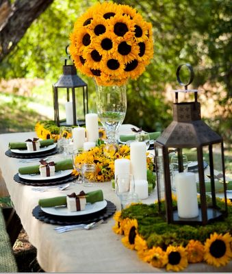 sunflower party theme - Google Search