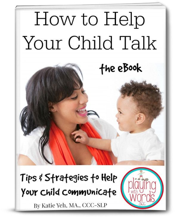 Playing with Words 365: How to Help Your Child Talk-The eBook (Help the young children in your life communicate while helping a great cause) Pinned by SOS Inc. Resources @SOS Inc. Resources.