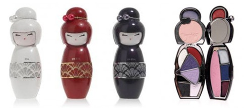 Have you seen these adorable Japanese kokeshi doll-inspired makeup palettes by Italian company Pupa Cosmetics? Each compact contains a blush, 6 eyeshadows, 5 lip shades, an applicator, and a mirror - available here! http://rstyle.me/fyq57cjq7e
