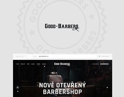 """Check out new work on my @Behance portfolio: """"Good Barbers— preview of visual communication"""" http://be.net/gallery/51465579/Good-Barbers-preview-of-visual-communication"""