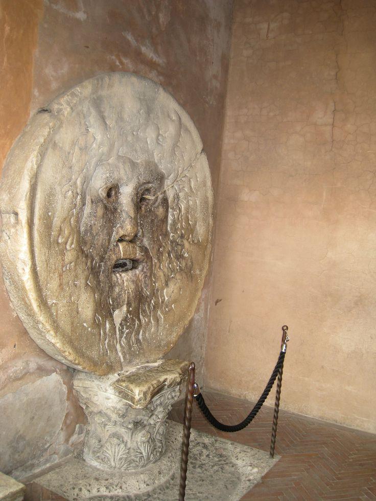 Уста Истины -  античная круглая мраморная плита с изображением маски Тритона (или Океана), датируемая IV веком до н.. В соответствии с римской легендой Уста Истины обладают магическим свойством предсказания и способностью предугадывать ложь.
