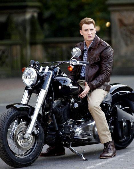Chris Evans as Captain Steve Rogers/Captain America