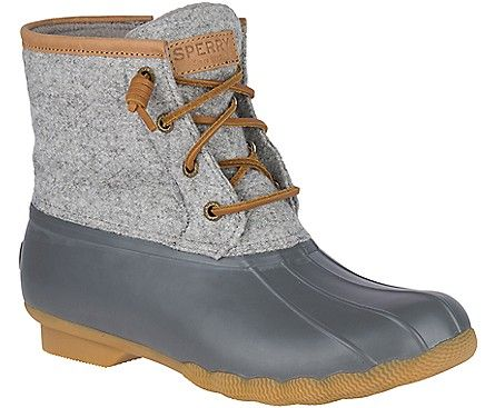 88379e9160bb Saltwater Wool Embossed Duck Boot w  Thinsulate™