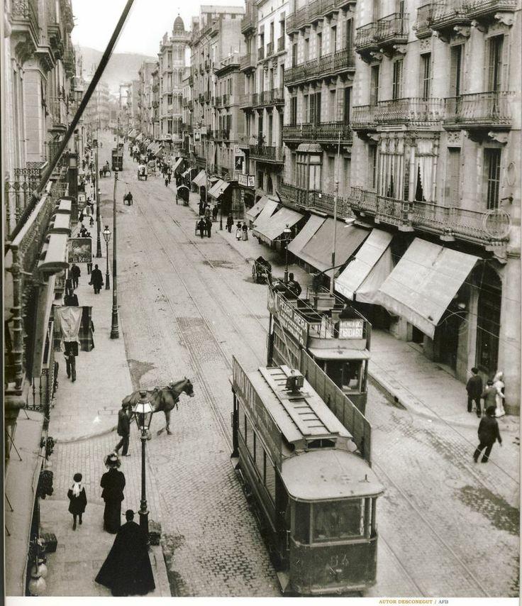 1910-15 - Carrer Gran de Gràcia
