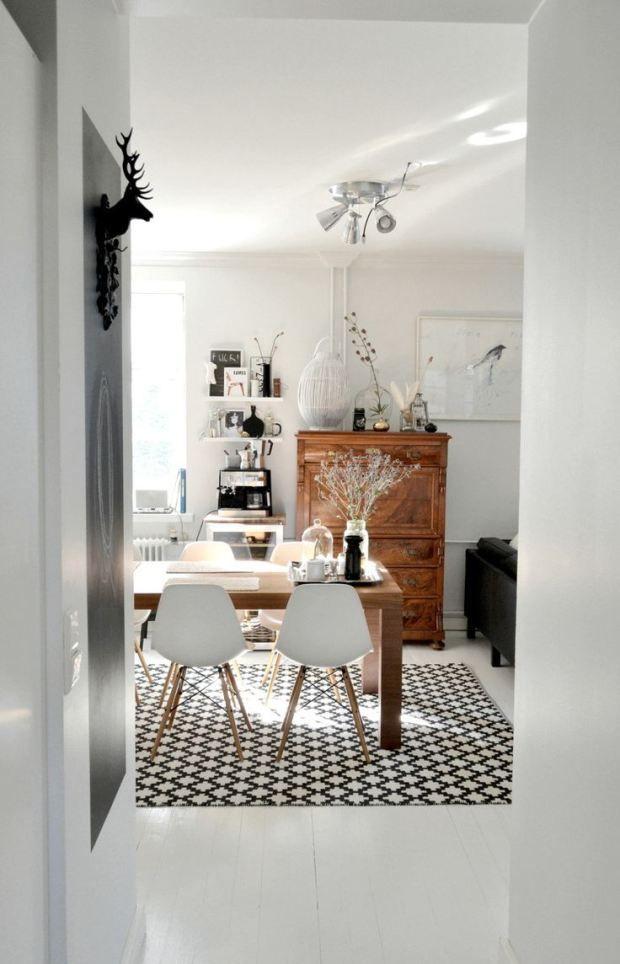 Comedor con alfombra #comedor #diningroom