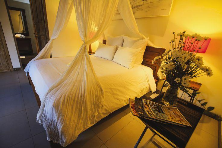 Bedroom of a private 1 bedroom #villa with #pool at The Decks Bali Villas. #Bali #thedecksbali #BalineseVilla #PrivateVilla #PoolVilla #Legian #Seminyak #instapic #instaholiday #instatravel #holiday #travel #vacation #BeachVacation#instadaily #Indonesia