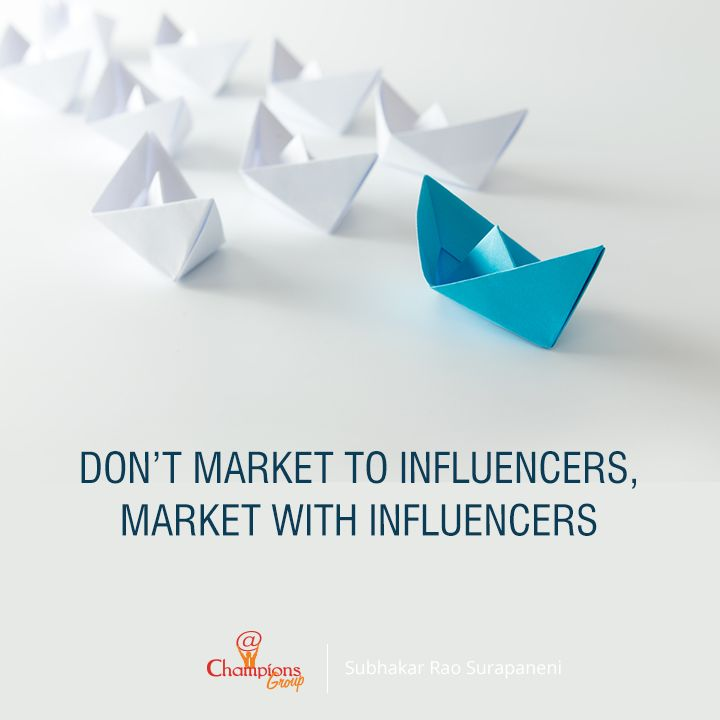 A lot in Influencer marketing depends on how you make others feel about your brand