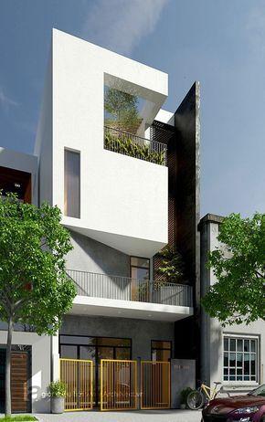 Nhà phố - dạng công trình kiến trúc nhà ở có lẽ là phổ biến nhất ở nước ta hiện nay, đặc biệt là ở các đô thị lớn. Trong suốt một quãng thời gian dài, những ngôi nhà ven các trục đường mọc lên một cách tự phát, như loài cỏ dại sau cơn mưa, với muôn hình vạn trạng và đủ các sắc thái. Nhưng đa phần trong số đó, những ngôi nhà không được những người có chuyên môn tham gia vào thiết kế bản vẽ. Những ngôi nhà được chủ đầu tư, hoặc những người thợ tự