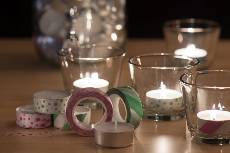 ASTUCE: relookage des bougies chauffe-plats
