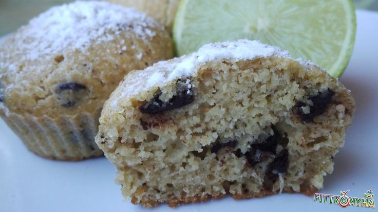 Lime-os csokis muffin