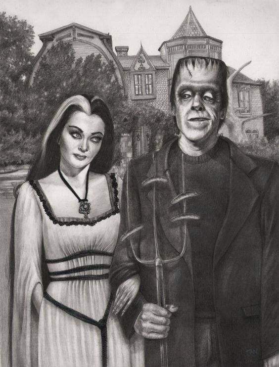 Lily & Herman Munster