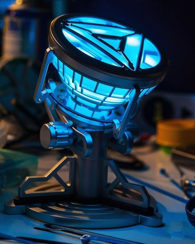 Get your very own Arc reactor prop light!  Iron Man fans will love this.  #GearBest#iron man#toy