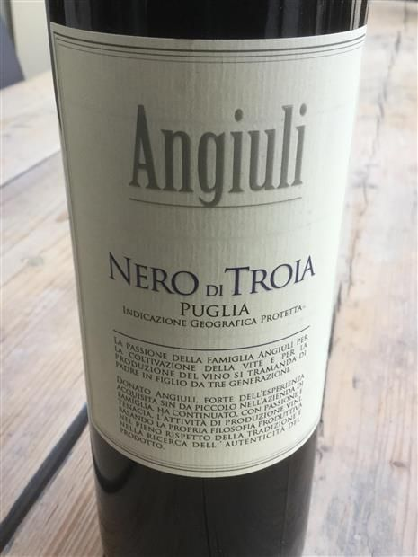 Puglia Nero Di Troia $27 (WineProvisionShop) - What a gem. Excellence at a low price. So what if its not a well known grape ?