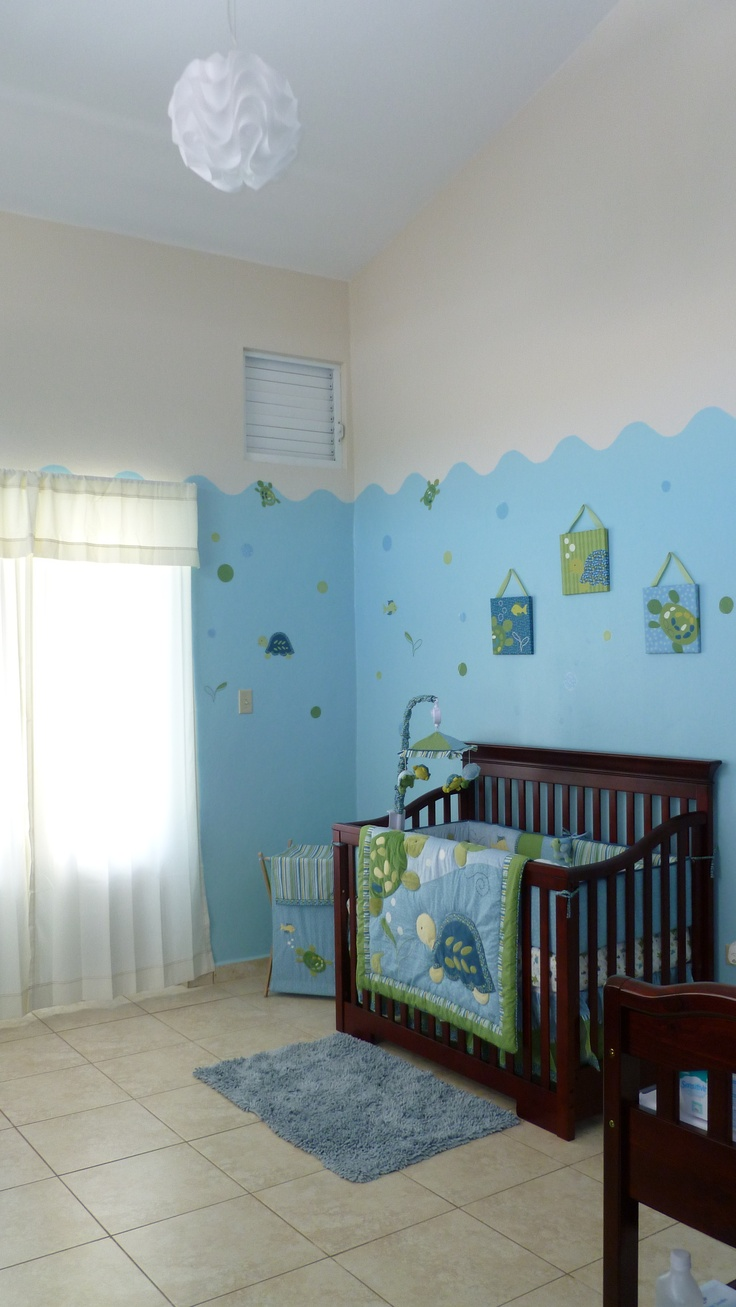 Turtle reef baby room