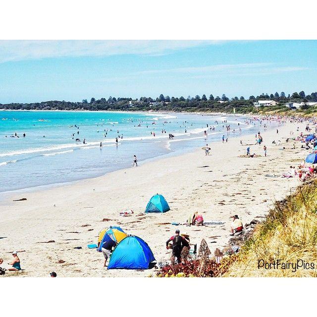Spectacular day for the beach! #portfairy #portfairypics #australia #aussiephotos #australiagram #admireaustralia #amazing_australia #beach #bestbeach #discovervictoria #explorevictoria #escapeandexplore #exploreaustralia #exploringaustralia #greatoceanroad #great_captures_australia #igers_vic #icu_aussies #ig_australia #ig_down_under #liveinvictoria #seegor #summer #seaaustralia #seeaustralia #visitvictoria #wow_australia @lifesavingvictoria