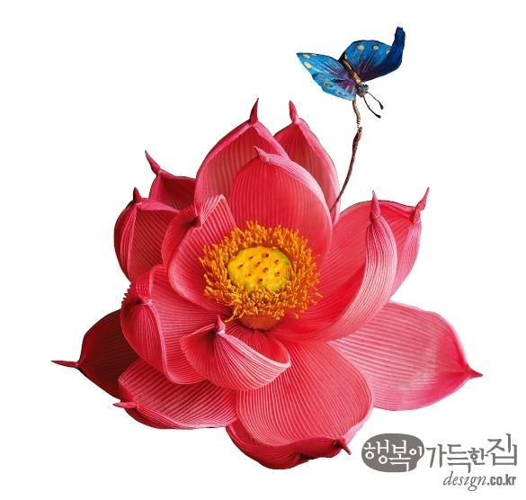 궁중채화, Korean Silk Flower  행복이 가득한 집_ 무형문화재 궁중채화장 황수로 박사 꽃보다 아름다워