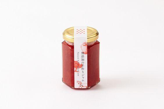 苺ジャムのラベル|Jam Package - Minamidate Design:                                                                                                                                                                                 More