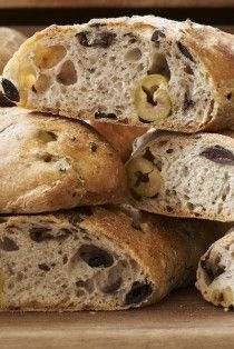 Gail's Bread: this mixed olive sourdough is just one of the many creative and sumptuous loaves devised and crafted by this bakery.