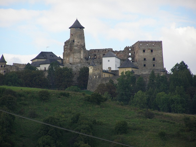 Castle in Stara Lubovna, Slovakia - the views were breathtaking!