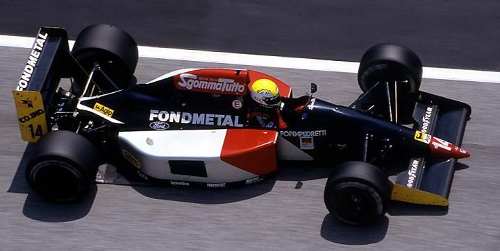 1992 Fondmetal GR01 - Ford (Andrea Chiesa)