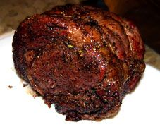 "Prime Rib  Try it on your smoker or in your oven if you have to! The trick is ""reverse-searing"" it. http://tipsforbbq.com/Recipes/Beef/PrimeRib"