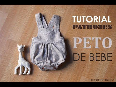 DIY Ropa bebé: vestido y braguita (patrones gratis) - YouTube