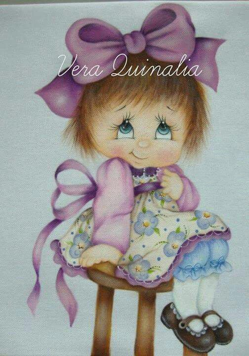 Vera Quinalia niña