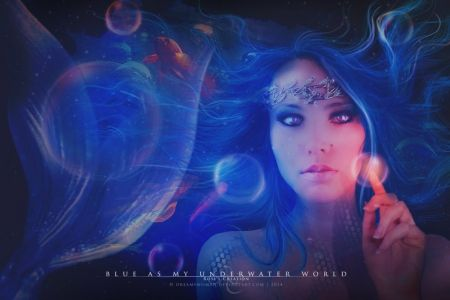 Blue as my underwater world - Fantasy Wallpaper ID 1827954 - Desktop Nexus Abstract