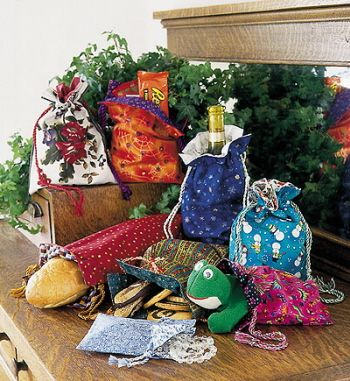 Pattern gift bags
