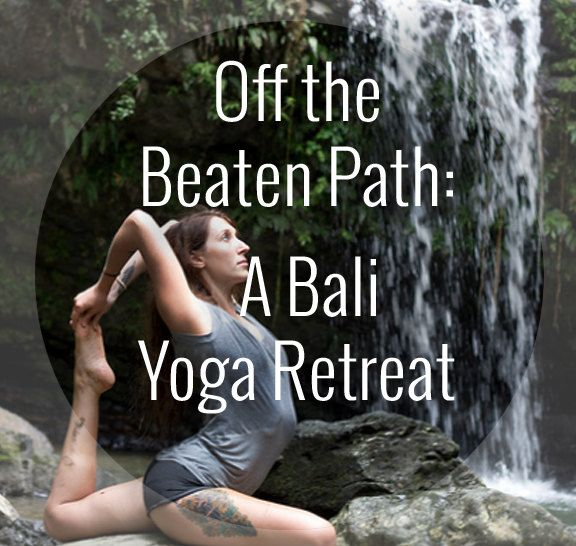 Have you ever wondered what it's like to study yoga in Bali? Kristin Daemon takes you through her Bali yoga experience.