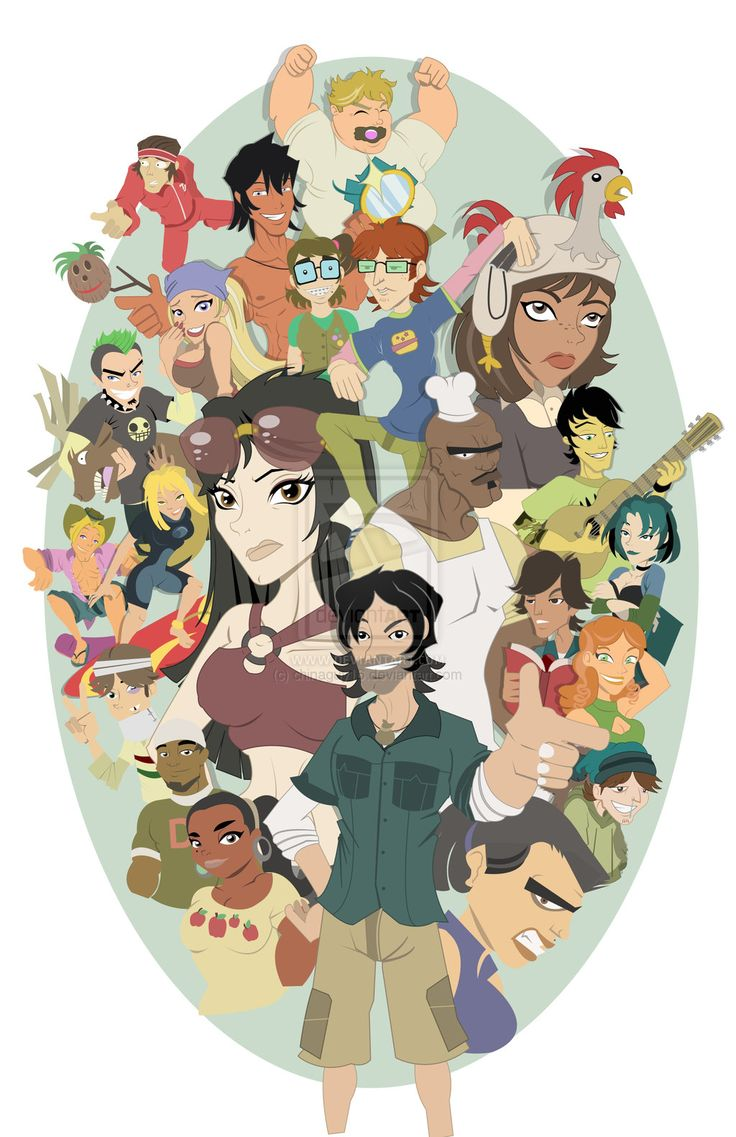 Total Drama Island Step 7 of 8 by chinaguy16.deviantart.com on @deviantART