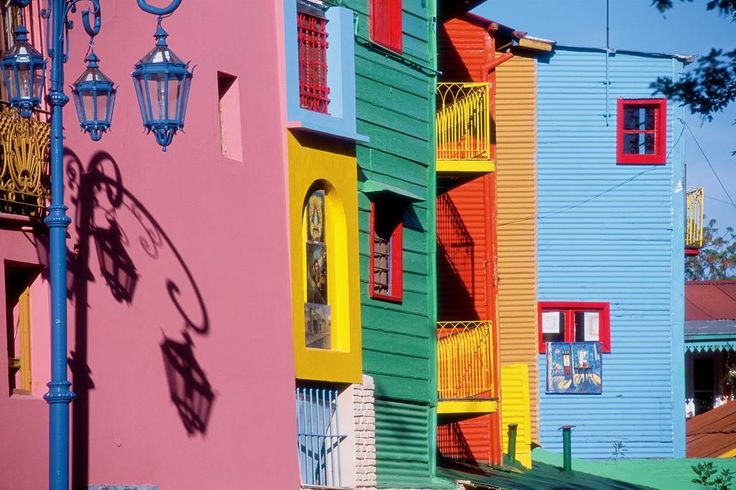 #LaBoca #BuenosAires #Argentina #ArgentinaEsTuMundo #Arquitectura #Viajes Para más info > https://www.facebook.com/viajaportupais