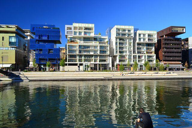 quartier #confluence à #Lyon : architecture contemporaine