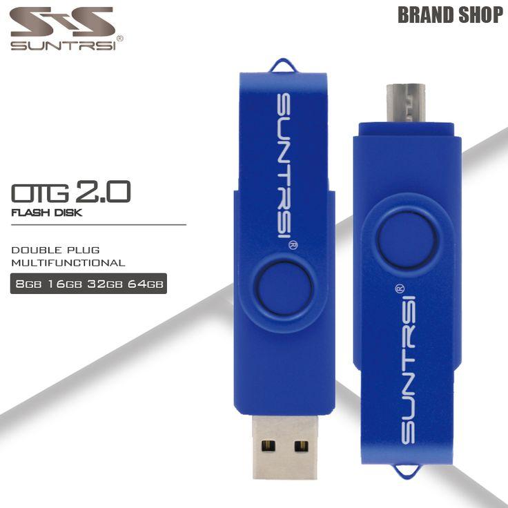 Suntrsi usb flash drive 64 GB high speed otg flashdisk usb stick USB Flash Drive OTG Kapasitas Real Pen Drive 4 GB 8 GB 16 GB 32 GB