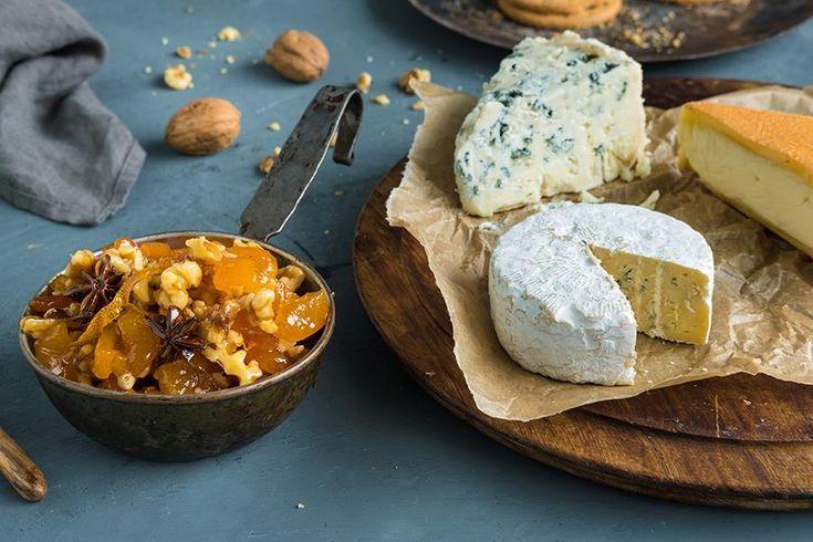Oppskrift på tilbehør til ost.