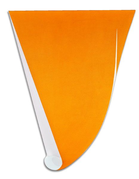 Charles Hinman, Orange Sunspot, 1965