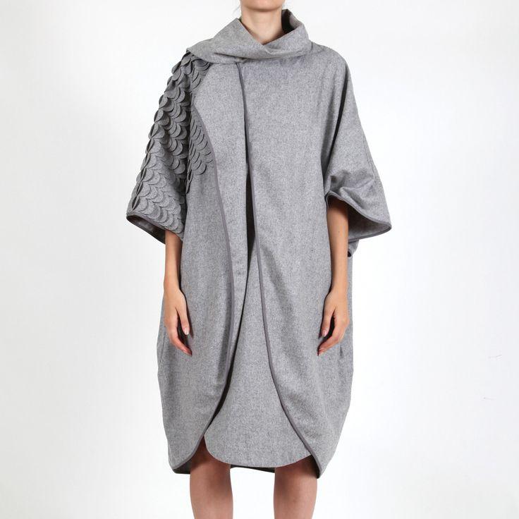 Bren Coat Grey