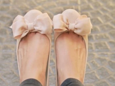 Bow Flats - Summer Shoes! so pretty