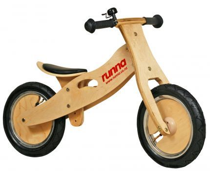 Runna Bike Black - The Wooden Toy Box Store