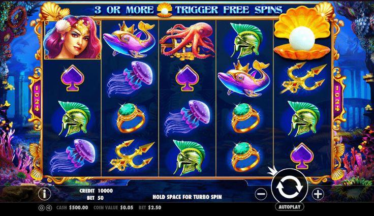 Queen of Atlantis - http://jocuri-pacanele.com/jocul-de-cazino-online-queen-of-atlantis-gratuit/