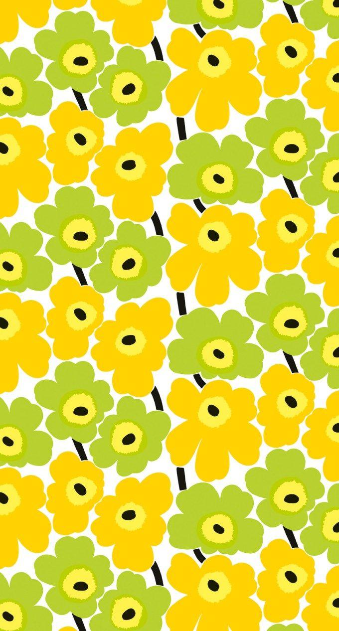 マリメッコ/ウニッコ05 iPhone壁紙 Wallpaper Backgrounds iPhone6/6S and Plus Marimekko Unikko iPhone Wallpaper もっと見る